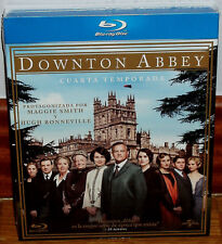 Downton Abbey 4ª Saison Complète 4 Blu-Ray Neuf Slipcover (sans Ouvrir) R2
