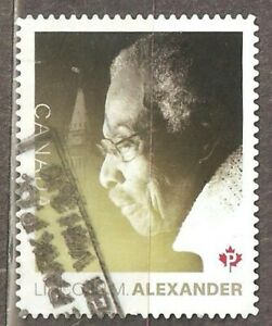 Canada: 1 used stamp of a set, Black History Month, 2018, Mi#3606