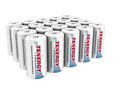 Tenergy 5000mAh Premium C Size High Capacity NiMH Rechargeable Battery Cell Lot