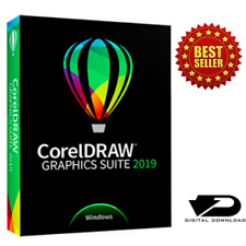 CorelDRAW Graphics Suite 2019 ✔️ Lifetime License 🔑 Full Version ✔️ For Windows