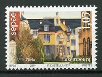 Luxembourg 2019 MNH Old Residential Houses SEPAC 1v Set Architecture Stamps