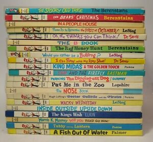21 Dr Seuss Books/ Cat In The Hat/beginner Books