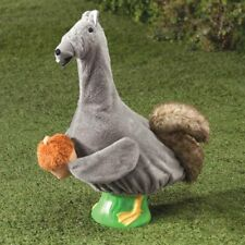 Squirrel Goose Outfit - Clothes Garden Cute Decor Outdoor Home Lawn Statues