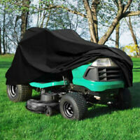 55'' Riding Lawn Mower Tractor Cover Garden Yard Weather UV Protector Waterproof