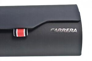 Large CARRERA Sunglasses Case New Black Hard Magnetic Brand New