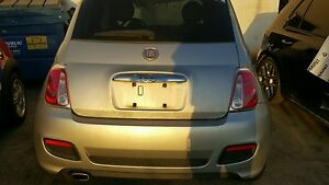Fiat 500 Coupe Rear Tailgate ,lid ,Complete Red Fits 2012-2013-2014-2015