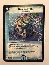 Tide Patroller Duel Masters DM10 Common card TCG CCG