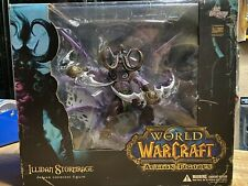 World of Warcraft: Illidan Stormrage Deluxe Collector Figure Dc Unlimited Rare