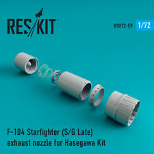 F-104 Starfighter (S/G Late) exhaust nozzle for Hasegawa 1/72 ResKit RSU72-0059