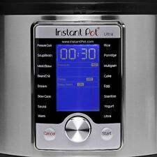 Instant Pot Ultra 6 Qt 10-in - 1 Multi-Use Programmable Pressure/Slow Cooker
