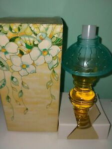 VINTAGE AVON MOONWIND EAU DE COLOGNE PERFUME LAMP 30ML BNIB COLLECTABLE