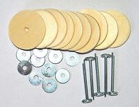 Gelenksatz für Teddy mit Holzscheiben 40 mm - baerenmachen, Teddybär Gelenke