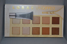 Lorac Unzipped Shimmer & Matte Eyeshadow Palette With Mini Primer New Unboxed