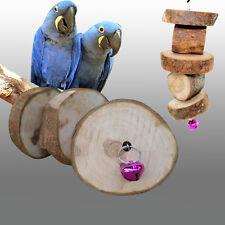 Papagei Vogel Schwingen Natürlich Holz Spielzeug Sittich Cockatiel Budgie PAL