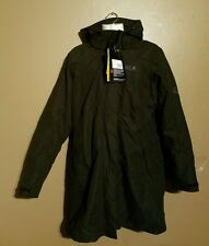 women's Jack Wolfskin jacket Ottawa coat double veste black size medium NWT