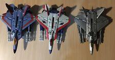 Transformers 2007 Lot: Thundercracker, Target Starscream & Deep Space Starscre