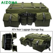 Four-wheels Snowmobile ATV Rack Rear Padded Storage Pack Cargo Luggage Bag