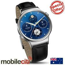 4G Data Capable Leather Band Smart Watches