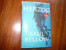 Herzog Saul Bellow Signed 1st