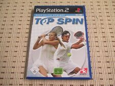 Top Spin für Playstation 2 PS2 PS 2 *OVP*
