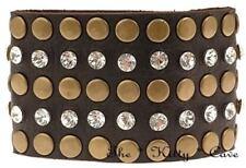 Pulseras de bisutería color principal marrón sin metal