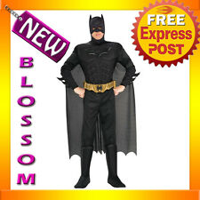 C272 Licensed Batman Dark Knight Muscle Chest Men Fancy Dress Adult Costume