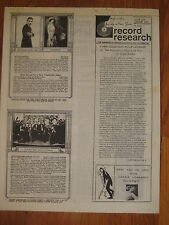 1970 Nora Bayes Lew Gold Jack Sheedy Ruth Etting Eddie Cantor RECORD RESEARCH