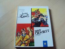 jeunesse  LE DEFI DE ZORRO & DAVY CROCKETT le trappeur  (livre animé)