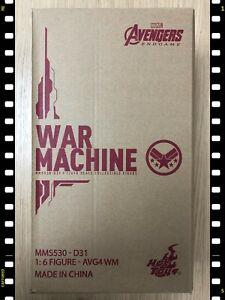 Hot Toys MMS 530 D31 Avengers Endgame Diecast War Machine Mark VI 6 Figure NEW