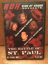 ROH The Battle of St. Paul DVD Ring of Honor Austin Aries Colt Cabana Wrestling