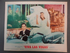 VIVA LAS VEGAS LC #6 '64 great image of FINAL SCENE IN FILM,  MINT