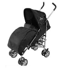 UNIVERAL FIT PRAM STROLLER BUGGY PUSH CHAIR COSY FOOT MUFF WARMER COVER BLACK
