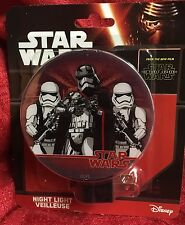 Star Wars Force Awakens Night Light Brand New On/Off Switch