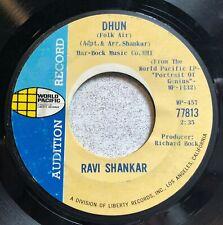 "1965 Ravi Shankar ""Dhun"" ""Song from the Hills"" promo 45"