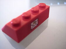 LEGO 3037pb018 @@ Slope 45 2 x 4 with Mail Envelope Pattern (Sticker) @@ 4564
