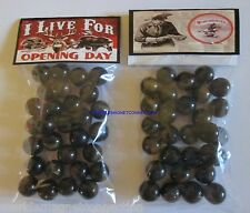 2 BAGS OF WINCHESTER FIREARMS & AMMO / HUNTING ADVERTISING PROMO MARBLES