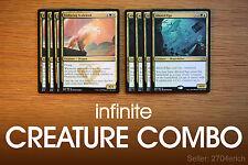 Infinite +1/+1 Token Dragon Combo / Enduring Ego (Blue Green White Deck) MTG Lot