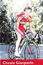 CYCLISME carte cycliste GIAN PAOLO CHEULA  équipe BARLOWORLD