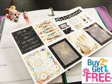 PP234 -- 23 New Year Functional Boxes Life Planner Stickers for Erin Condren