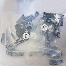 Nail Technician Bag of 100 Black & White Zebra Print Nail Tips salon use