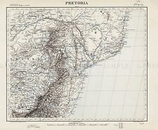 MAP ANTIQUE ARNOLDI 1600 AFRICA OLD HISTORIC LARGE REPLICA POSTER PRINT PAM0534