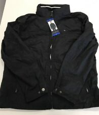 NWT Mens Black TOMMY HILFIGER Nylon Taslan Jacket with...