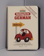 """Getting By In German"" Quick Beginners Course For Tourists Learn Language Tapes"