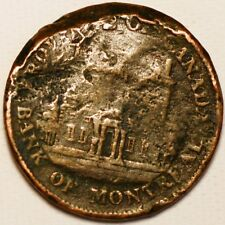 1/2 Penny 1844 Bank of Montreal Canadian provinces
