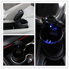 Auto Accessories illuminated Ashtray Car Ashtray With Led Light Easy Clean Black