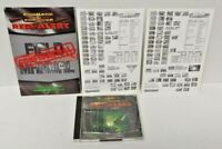 Command & Conquer: Red Alert PC, 1996 GAME + Manual - Mint Disc 1 Owner !