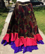 Gypsy Belly Dance Skirt Custom Made by Dalia Carella