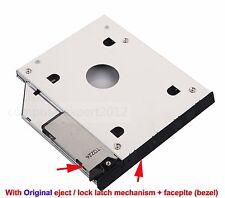 2nd SATA HD HDD SSD Hard Drive Caddy Adapter for Dell E6400 E6500 M2400 M4400