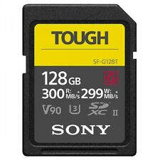 SD Card SONY SF-G128T UHS-II Tough G-Series 128GB Class10 Fast Ship Japan EMS
