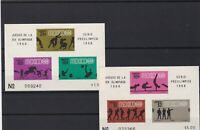 mexico 1968 olympics mint never hinged stamps sheets ref r12598